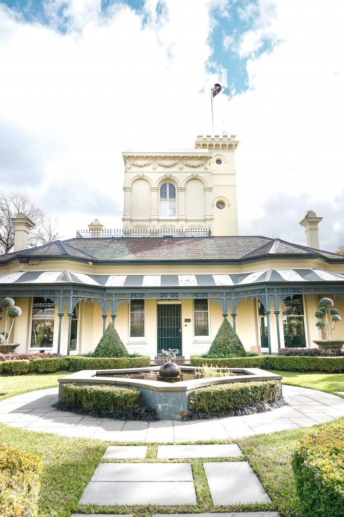 The historic Melbourne home of Pamela McClaren on www.engagingwomen.com.au