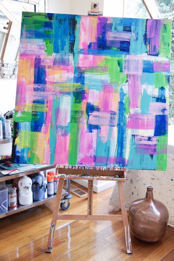 Sabina Klein artwork on www.engagingwomen.com.au