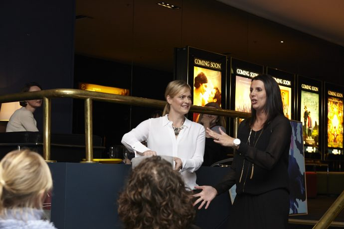 Martine Harte and Natalie Bell at the Will Murray Fundraiser